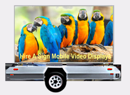 Outdoor Mobile Video Billboard Advertising for Exposure